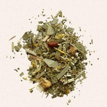 Tisane CBD à l'eucalyptus et plantes bio